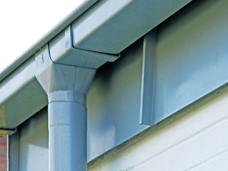 Dachrinne titanzink vorbewittert  Dachentwässerung - Wille